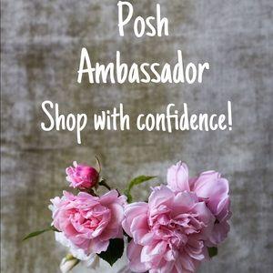 I'm a Posh Ambassador...Shop with confidence !!